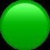 🟢 green circle Emoji on Apple Platform
