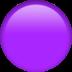 🟣 purple circle Emoji on Apple Platform