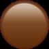 🟤 brown circle Emoji on Apple Platform