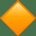 🔶 large orange diamond Emoji on Apple Platform