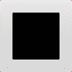🔳 white square button Emoji on Apple Platform