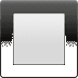 🔲 black square button Emoji on Apple Platform