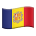 🇦🇩 flag: Andorra Emoji on Apple Platform
