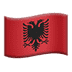 Flag: Albania