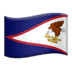 🇦🇸 flag: American Samoa Emoji on Apple Platform
