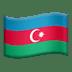 Azerbaijian Flag