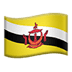 🇧🇳 flag: Brunei Emoji on Apple Platform