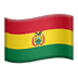 Flag: Bolivia