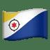 🇧🇶 flag: Caribbean Netherlands Emoji on Apple Platform