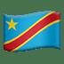 Flag: Congo – Kinshasa