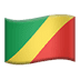 🇨🇬 flag: Congo – Brazzaville Emoji on Apple Platform