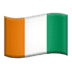 🇨🇮 flag: Côte d'Ivoire Emoji on Apple Platform