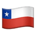 🇨🇱 Chile Flag Emoji on Apple Platform