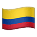 🇨🇴 flag: Colombia Emoji on Apple Platform