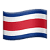 Flag: Costa Rica