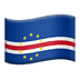 🇨🇻 flag: Cape Verde Emoji on Apple Platform