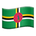 🇩🇲 flag: Dominica Emoji on Apple Platform