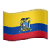 🇪🇨 flag: Ecuador Emoji on Apple Platform