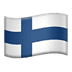 🇫🇮 Finland Flag Emoji on Apple Platform
