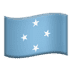 🇫🇲 flag: Micronesia Emoji on Apple Platform