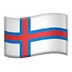 🇫🇴 flag: Faroe Islands Emoji on Apple Platform