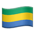 🇬🇦 flag: Gabon Emoji on Apple Platform