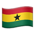 🇬🇭 flag: Ghana Emoji on Apple Platform