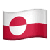 🇬🇱 Greenland Flag Emoji on Apple Platform