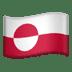 🇬🇱 flag: Greenland Emoji on Apple Platform