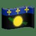 🇬🇵 flag: Guadeloupe Emoji on Apple Platform