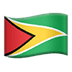 🇬🇾 flag: Guyana Emoji on Apple Platform