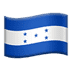 🇭🇳 flag: Honduras Emoji on Apple Platform