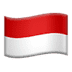 Flag: Indonesia