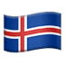 🇮🇸 flag: Iceland Emoji on Apple Platform