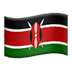 🇰🇪 flag: Kenya Emoji on Apple Platform