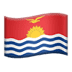 🇰🇮 flag: Kiribati Emoji on Apple Platform