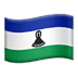 🇱🇸 Lesotho Flag Emoji on Apple Platform