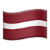 🇱🇻 flag: Latvia Emoji on Apple Platform