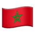 🇲🇦 flag: Morocco Emoji on Apple Platform