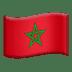 Flag: Morocco