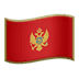 🇲🇪 flag: Montenegro Emoji on Apple Platform