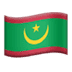 🇲🇷 flag: Mauritania Emoji on Apple Platform