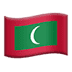 🇲🇻 flag: Maldives Emoji on Apple Platform