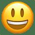 😃 Mukhang Nakangisi at Malaki ang Mata Emoji sa Apple Platform