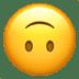 🙃 Upside Down Face Emoji on Apple Platform