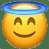 😇 smiling face with halo Emoji on Apple Platform