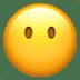 😶 face without mouth Emoji on Apple Platform