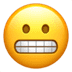 😬 grimacing face Emoji on Apple Platform