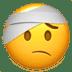 🤕 face with head-bandage Emoji on Apple Platform