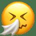 🤧 Sneezing Face Emoji on Apple Platform